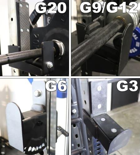 Force USA G20 J-Hooks vs J-Hooks on Other Models