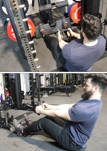 Force USA G20 Lat Row Station Low Rows vs Functional Trainer Low Rows