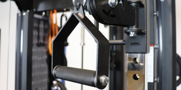 Force USA G20 - Metal Stirrup Handles Cable Accessory for Functional Trainer