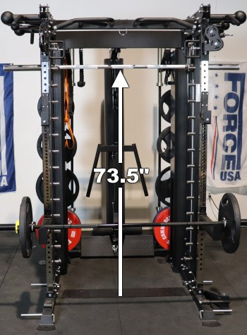 Force USA G20 Smith Machine - Highest Rackable Smith Bar Height