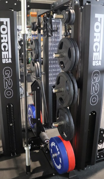 Force USA G20 Weight Plate Storage