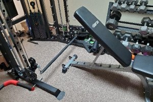 Force USA G6 - Chest Supported Cable Rows Setup