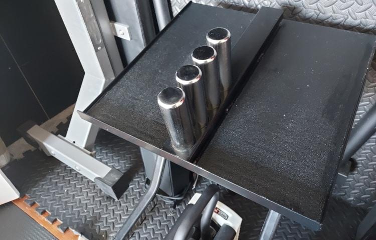 PowerBlock Adder Weights in Stand