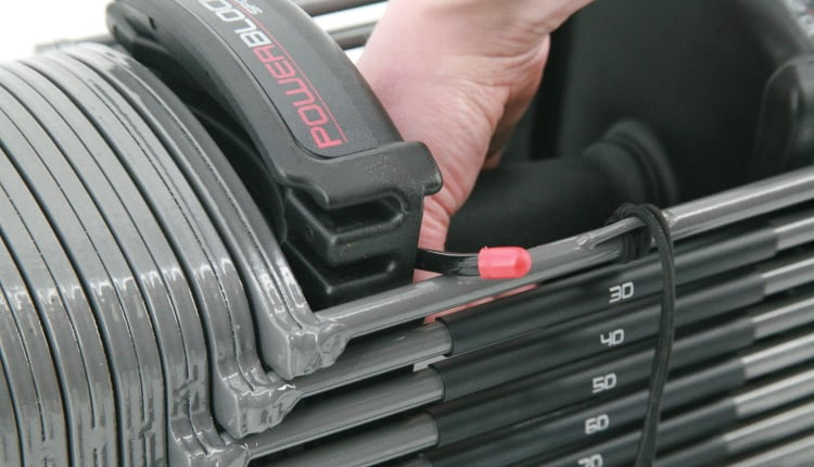 PowerBlock Sport EXP Auto Lock Mechanism