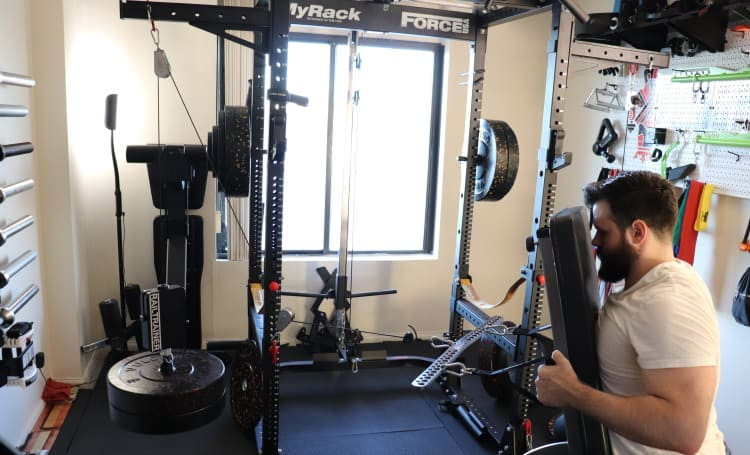 Railtrainer Quick Pin - Cable Chest Supported Rows