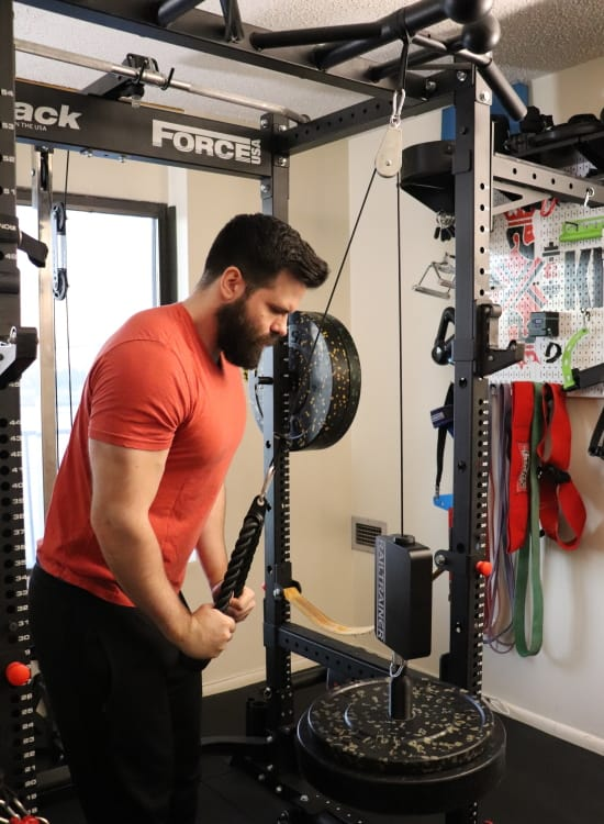 Railtrainer Quick Pin - Triceps Pushdowns