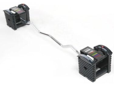 Updated PowerBlock EZ Curl Bar Design