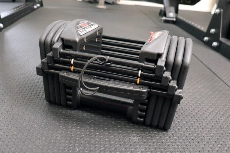 PowerBlock Pro EXP Stage 1 Adjustable Dumbbells - 5-50 Lbs