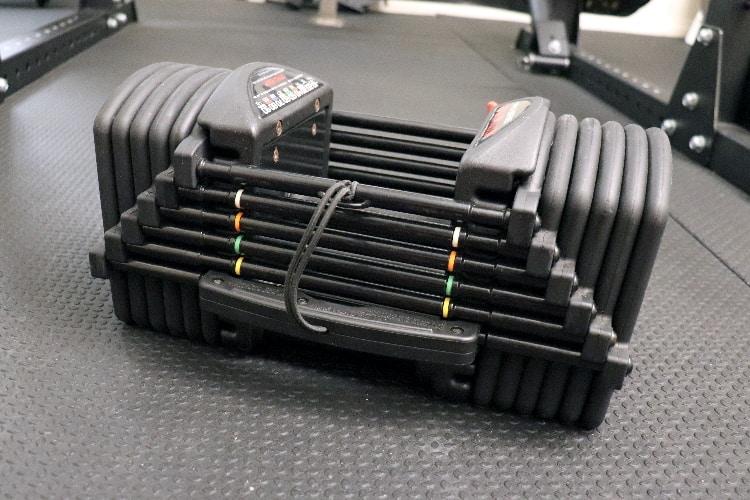 PowerBlock Pro EXP Stage 2 Adjustable Dumbbells - 5-70 Lbs