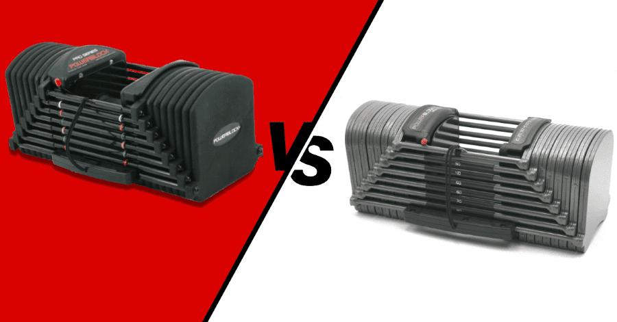 PowerBlock Pro vs Sport - Review and Comparison