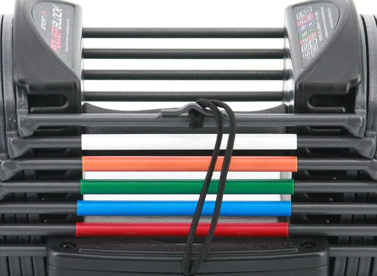 PowerBlock Sport 24 Colors and Weight Indicator Bands