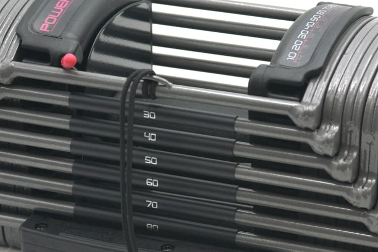 PowerBlock Sport EXP Colors and Weight Indicator Bands